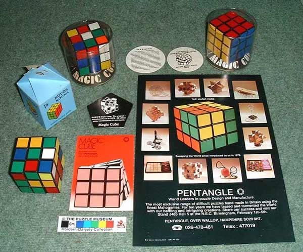 Erno Rubik's Magic Cube