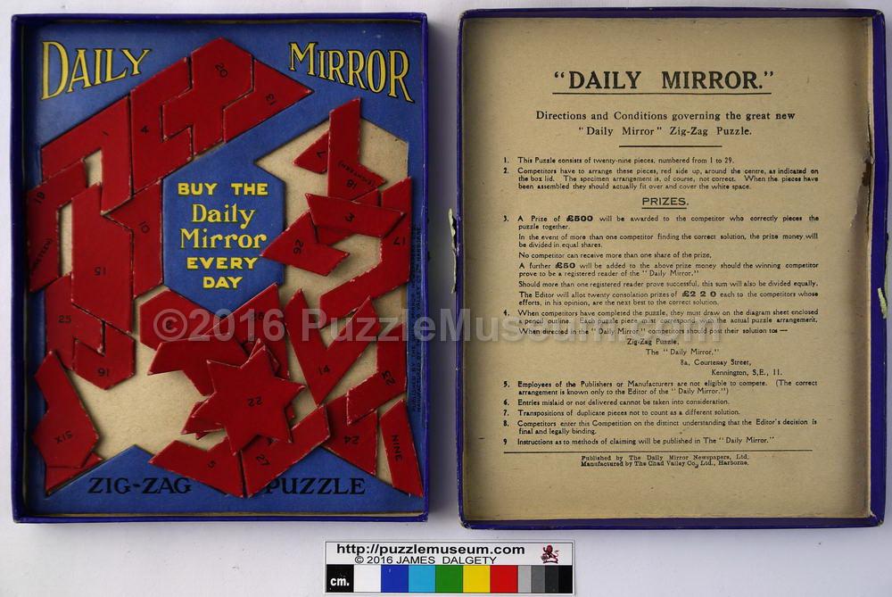 Puzzle Museum sale of vintage puzzles